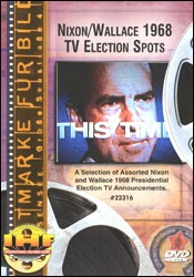 Nixon-Wallace 1968 TV Election Spots DVD - www.ihfhilm.com