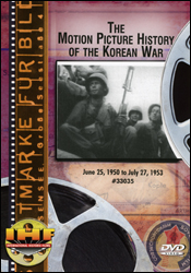 Motion Picture History of the Korean War DVD - www.ihfhilm.com