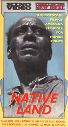 Native Land : The Legendary Film Of America's Struggle For Human Rights (VHS Tape) - www.ihfhilm.com