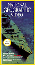 Search For Battleship Bismarck - National Geographic Video (VHS Tape) - www.ihfhilm.com