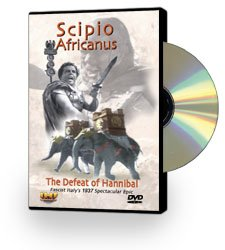Scipio Africanus (Scipio the African): The Defeat of Hannibal DVD Educational Edition - www.ihfhilm.com