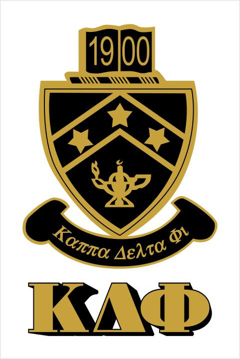 Kappa Delta Phi Crest Window Decals Stickers