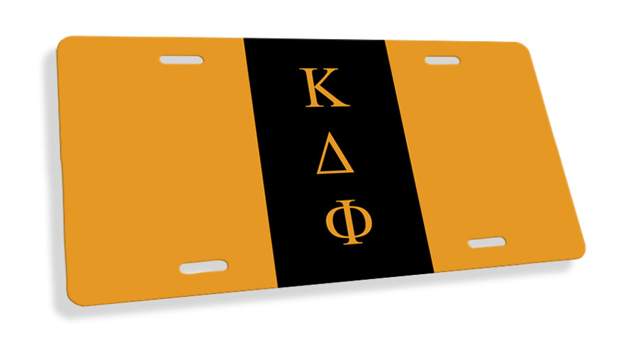 Kappa Delta Phi Flag License Cover