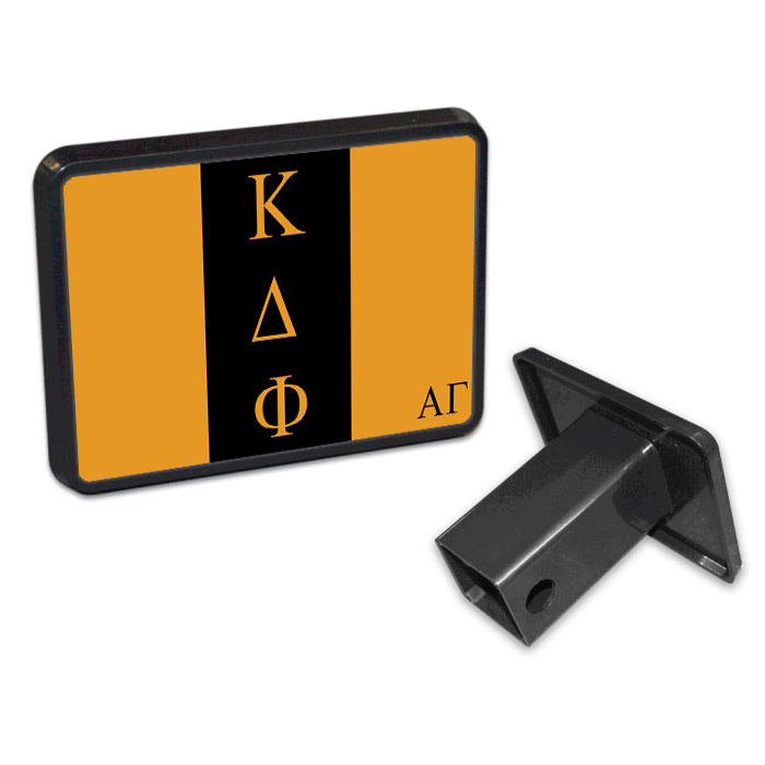 Kappa Delta Phi Flag Trailer Hitch Cover
