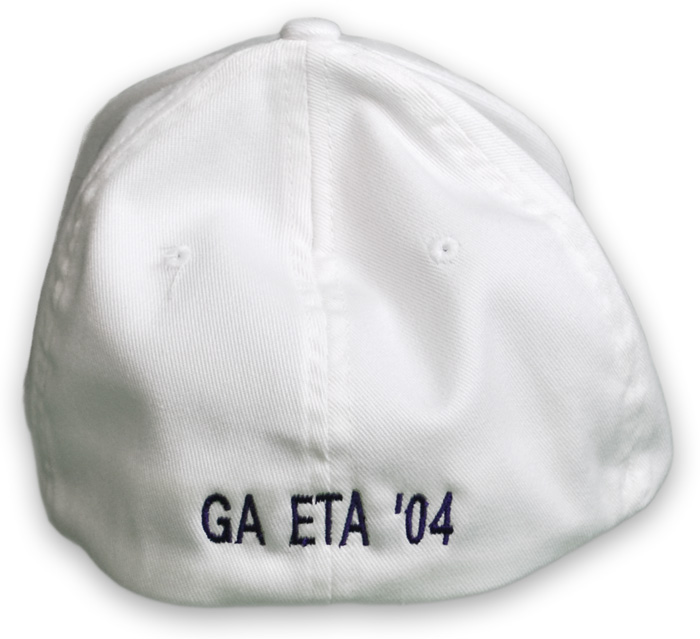 Add Text To Back Of Hat