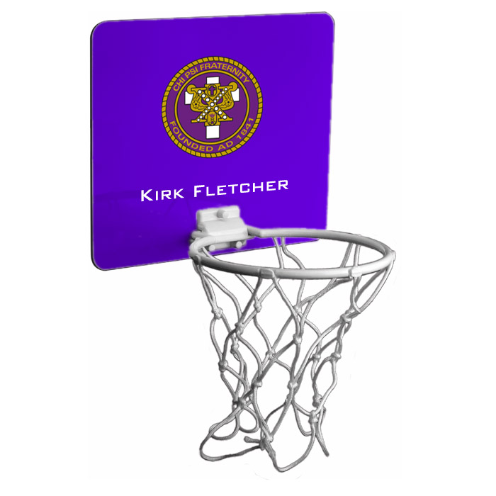 Chi Psi Mini Basketball Hoop