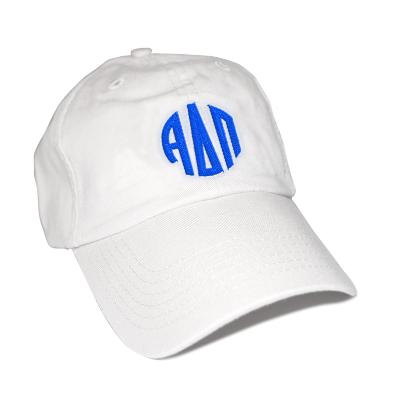 Alpha Delta Pi Circle Monogram Cap