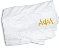 Alpha Phi Alpha Towel - 35 in. by 60 in.
