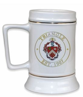 Triangle Fraternity Ceramic Stein