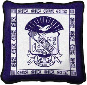 Phi Beta Sigma Pillow