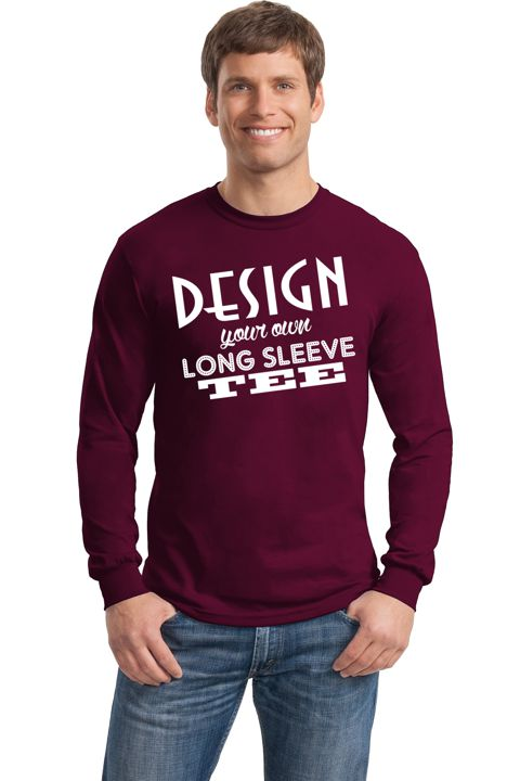 Design Your Own Long Sleeve T-Shirt