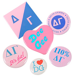 Sorority Buttons & Pins