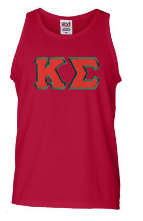 $18 Kappa Sigma Lettered Tank Top