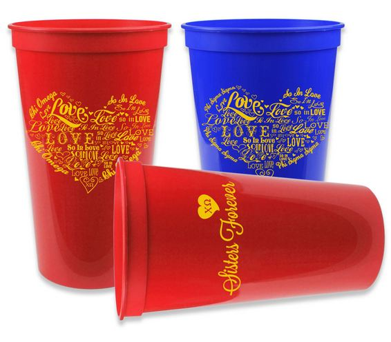 Sorority Cup - Giant 22oz Plastic Cup!