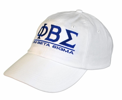 Phi Beta Sigma World Famous Line Hat - MADE FAST!