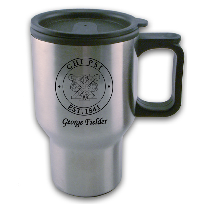 Chi Psi Travel Mug
