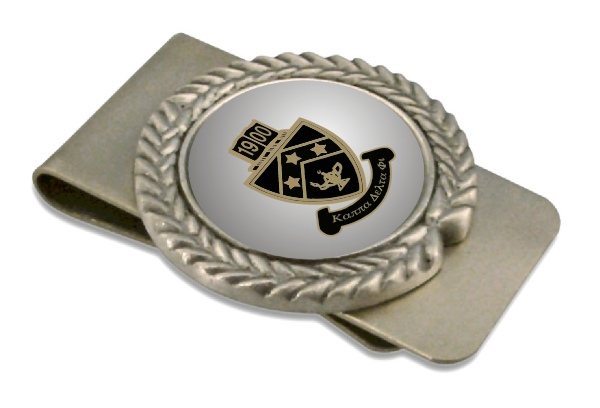 Kappa Delta Phi Pewter Money Clip