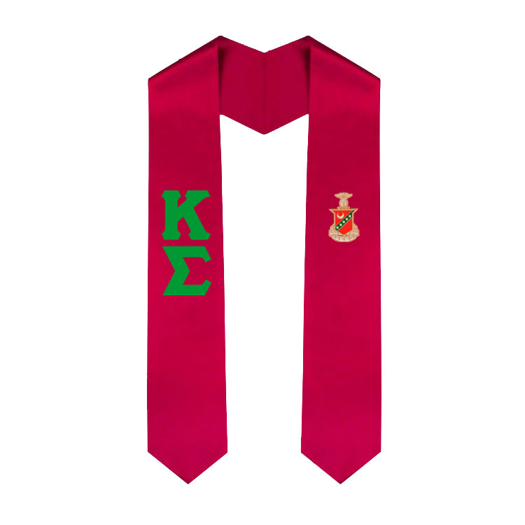 Kappa Sigma Greek Lettered Graduation Sash Stole Sale 29