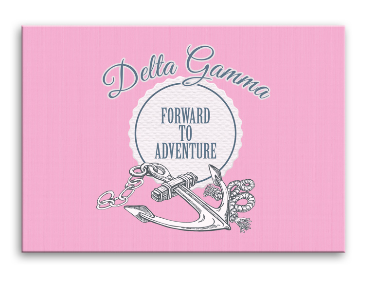 Design Your Own Sorority Canvas