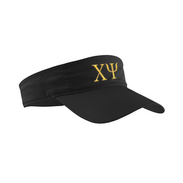 Chi Psi Greek Letter Visor