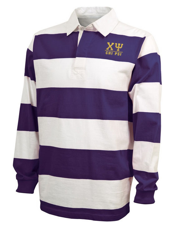 Chi Psi Lettered Rugby
