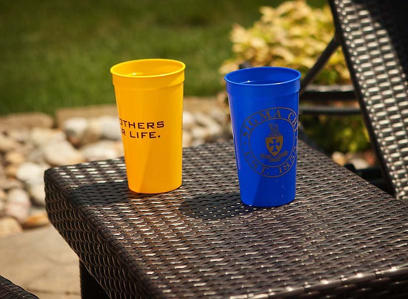 Big Fraternity Cups
