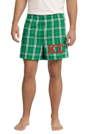 Fraternity & Sorority Flannel Boxer Shorts