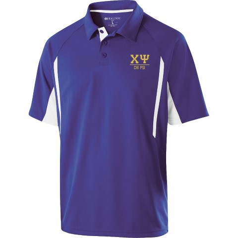 Chi Psi Greek Letter Avenger Polo