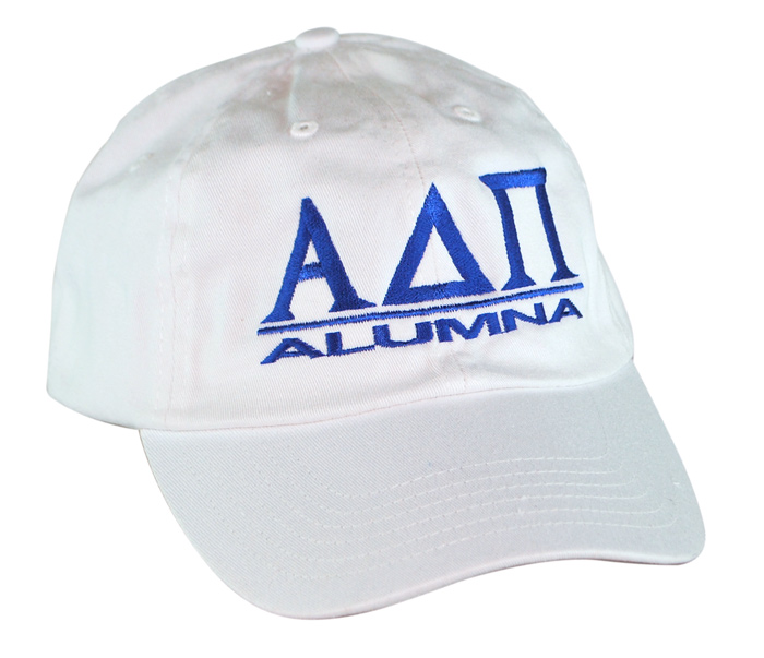 Alpha Delta Pi World Famous Line Hat