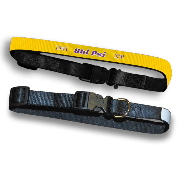 Chi Psi Pet Collar