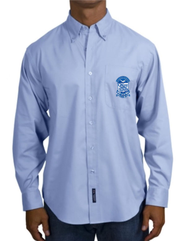 Phi Beta Sigma Long Sleeve Oxford