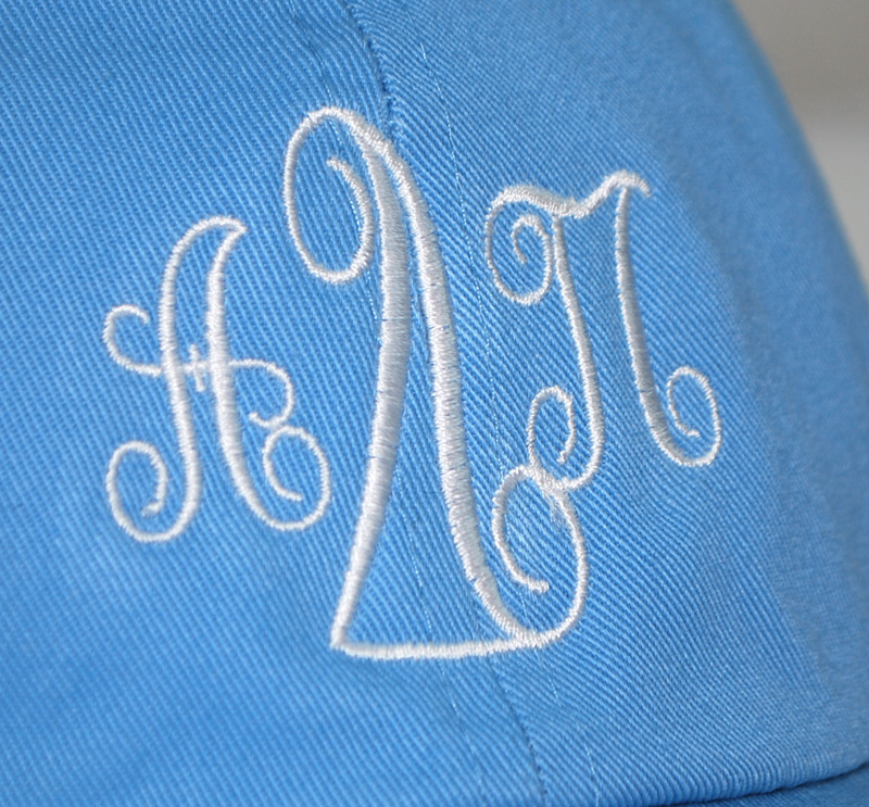 Alpha Delta Pi Monogrammed Greek Hat