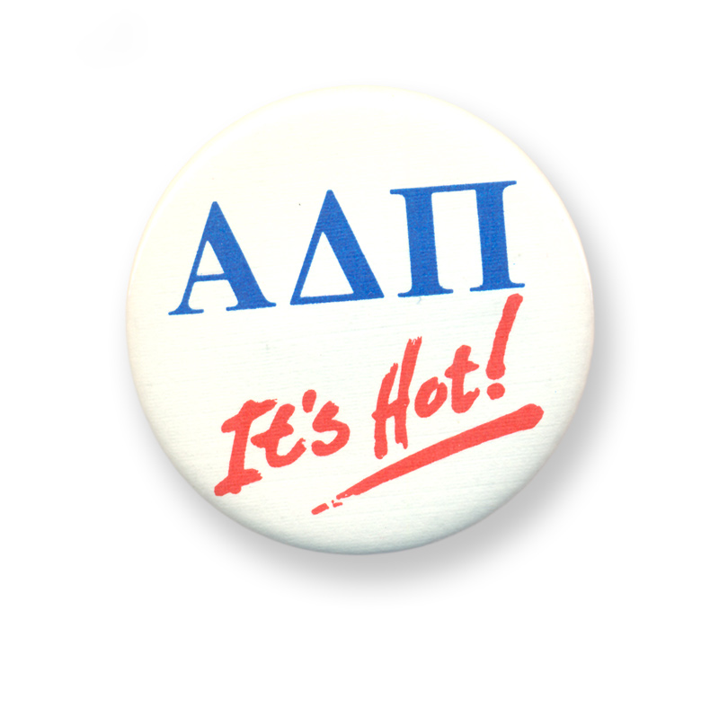 Alpha Delta Pi It's Hot Button