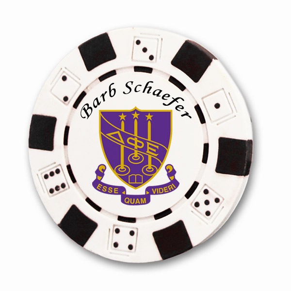 Delta Phi Epsilon Poker Chips