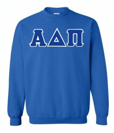 Alpha Delta Pi $35 Greek Crewneck- MADE FAST!