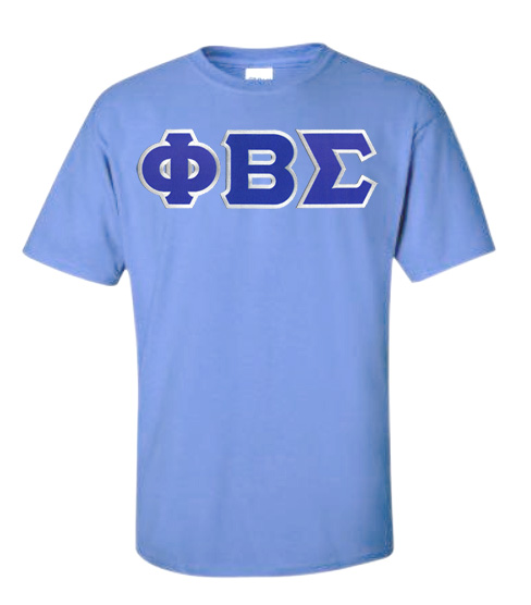 $15 Phi Beta Sigma Lettered T-shirt