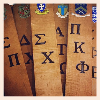 Fraternity Paddles