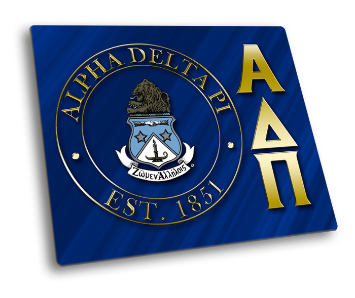 Alpha Delta Pi Hard Mousepads