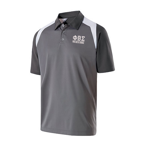 Phi Beta Sigma Greek Letter Shield Polo's