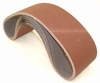 "Aluminum Oxide Sanding Belts, 4"" by 36"", 80 Grit, Pack of 10."
