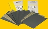 "Mirka Wet/Dry Sanding Sheets 9"" x 11"" P80C Grit, Pack of 25."