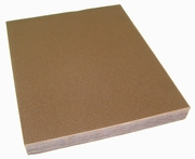"Garnet Paper Sheets, 9"" by 11"", 120C Grit, Pack of 100."