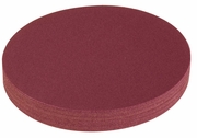 "Aluminum Oxide PSA Cloth Abrasive Discs, 3"" Diameter, 80 Grit, Pack of 100."