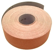"3"" by 50 Yds. Cloth Drum Sander Roll, 36 Grit."