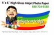 "Inkjetcartridge.com 4 x 6"" High Gloss Inkjet Photo Paper"