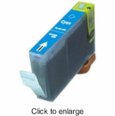 Canon BCI-6C (BCI6C) Compatible Cyan Inkjet Cartridges - click to enlarge