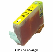 Canon BCI-6Y (BCI6Y) Compatible Yellow Inkjet Cartridges - click to enlarge