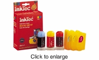 Color Ink Refill Kit for Canon BCI-6C / BCI-6M / BCI-6Y Inkjet Printer Cartridges - click to enlarge