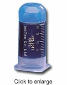Single Cyan Refill Bottle for Canon BCI-6C Inkjet Cartridges - click to enlarge
