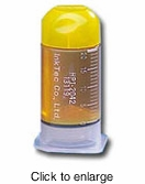 Single Yellow Refill Bottle for Canon BCI-6Y Inkjet Cartridges - click to enlarge